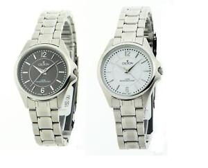 Croton-Womens-Stainless-Steel-Dress-Watch-Black-White