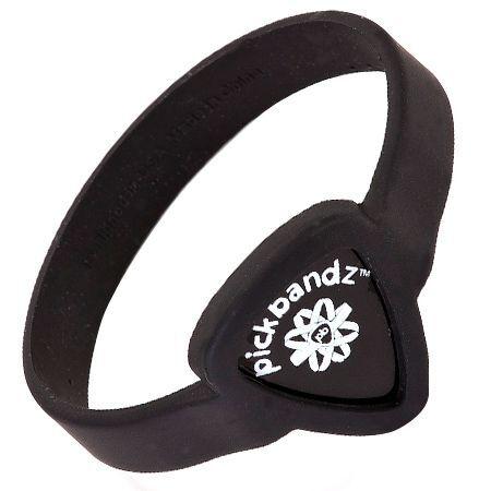 Pickbandz band Pick Holder - Epic Black Adult Larg Size