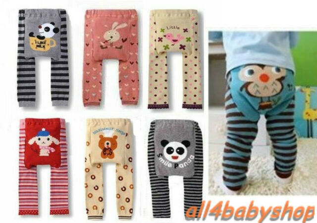 Baby Toddler Infant Boy Girl Unisex Leggings Trousers Pants Tights NEW