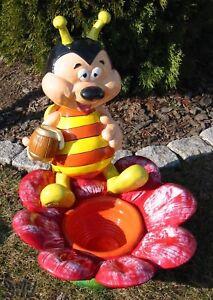 Biene Mit Honig Blumentopf Garten Deko Figur Dekoration 55