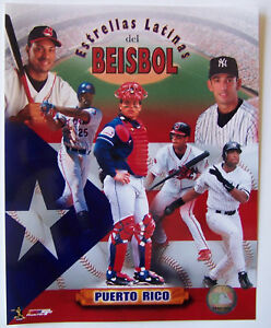 PUERTO-RICO-ALL-STARS-OF-BASEBALL-8X10-YANKEES-DODGERS