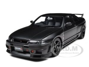 NISSAN-SKYLINE-GT-R-R-TUNE-R33-MATT-BLACK-1-18-DIECAST-MODEL-BY-AUTOART-77324