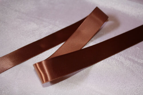 5 Metres of 38mm High Quality Single Sided Satin Ribbon All Colours