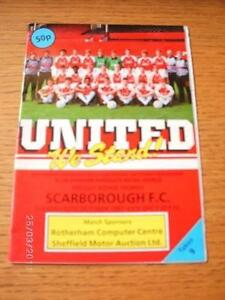 13-10-1987-Rotherham-United-v-Scarborough-Freight-Rover-Trophy-1st-League-Sea