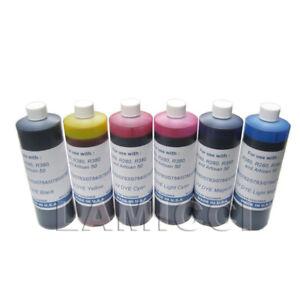 6-UV-Bulk-Pint-refill-ink-set-for-CISS-Epson-R260-R280