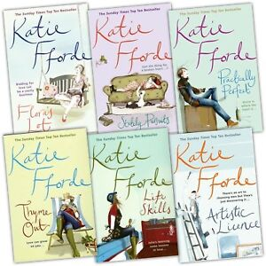 Katie-Fforde-Collection-6-Books-Set-Pack-New-RRP-41-94