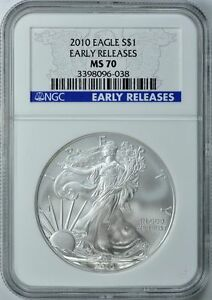2010-AMERICAN-SILVER-EAGLE-S-1-EARLY-RELEASE-NGC-MS70
