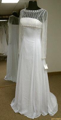 New Eden 1089 Long Wedding Dress Formal Sizes 4, 6, 8, or 10