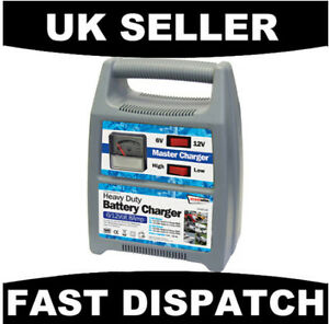 HEAVY-DUTY-12A-BATTERY-CHARGER-6-12V-CAR-VAN-MOTORCYCLE