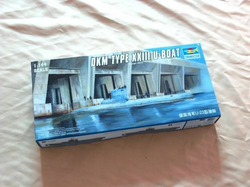 Trumpeter 05907 1 144 Static Model DKM XXIII U-Boat Planned Submarine Warship