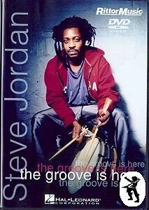 Steve-Jordan-The-Groove-Is-Here-Drum-Tuition-DVD-NEW