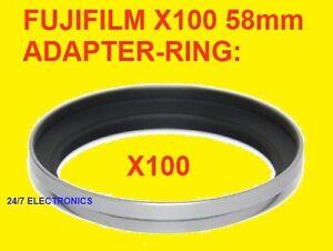 itm B Metal Lens Hood Adapter Ring fr Fujifilm FinePix X LH X X AR X