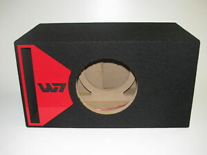 Jl audio 10w7 ported sub box special edition with red for L ported box calculator