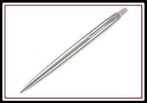 PARKER-JOTTER-STAINLESS-STEEL-BALL-POINT-PEN-NEW-BALLPEN