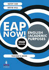 EAP Now! English for academic purposes Teachers book by David Hill, Kathy Cox (Paperback, 2010)