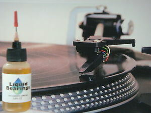Liquid Bearings, BEST 100%-synthetic oil for vintage Dual turntables, READ!!!