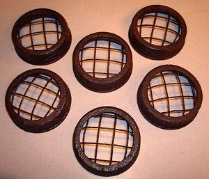 Vintage-FLOWER-FROG-LID-fits-Mason-Patent-Jar-Set-LOT-6
