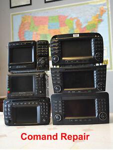 Mercedes comand navigation radio repair ebay for Mercedes benz car radio repair