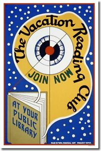 Vacation-Reading-Club-WPA-Vintage-Library-Book-POSTER