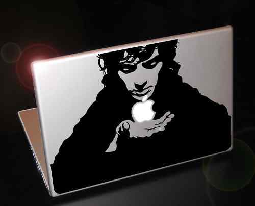 Macbook Frodo's Apple (Lord of the rings inspired) Sticker Decal. Apple TV ad