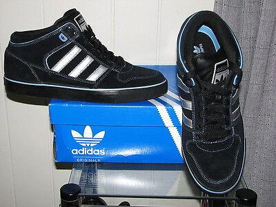 ADIDAS Men's Black Culver Vulc Mid Originals Skate Shoes SIZES NIB
