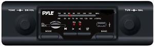 NEW-AM-FM-Car-Stereo-Radio-w-MP3-SD-USB-inputs-fits-JEEP-CJ-Wagoneer
