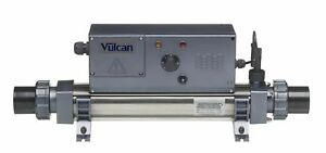 Vulcan 3kw swimming pool spa pond heater ebay for Swimming pool electric heaters