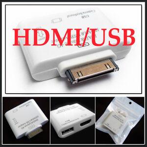 HDMI-Video-Adapter-Dock-USB-for-iPad-2-iPhone-4-Ipod