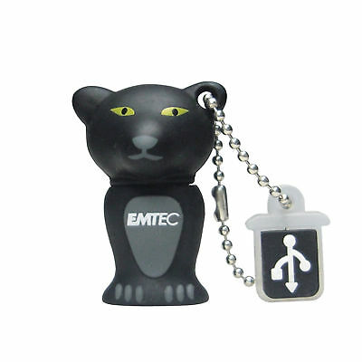 CLE USB 2 GO RAPIDE EMTEC PANTHERE /  2 gb key clef