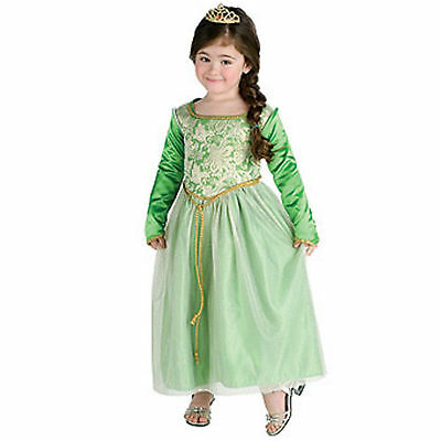 Child Kids Shrek the Third Princess Fiona Dress Costume
