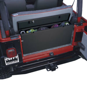 tuffy 039 jeep security storage trunk for 97 06 jeep wrangler tj ebay. Black Bedroom Furniture Sets. Home Design Ideas