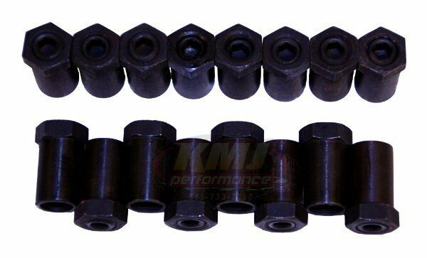 Small Block Chevy & Ford 3/8 Inch Short Style Poly Locks Rocker Stud Polylocks