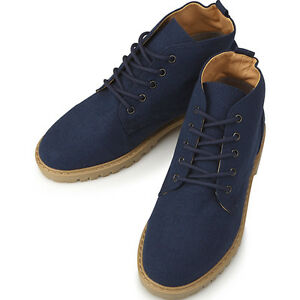 New-Canvas-Sneakers-Blue-Womens-High-Top-Shoes