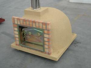 Wood-Fired-Brick-Pizza-Bread-Oven-40-w-3-FT-Chimney