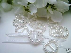 100-Pearl-Ribbon-Buckles-Slider-Heart-Shaped-Wedding-Invitation-Decoration