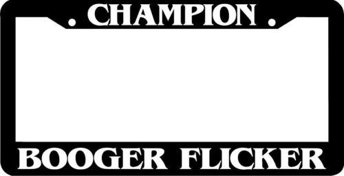 CHAMPION BOOGER FLICKER LICENSE PLATE FRAME