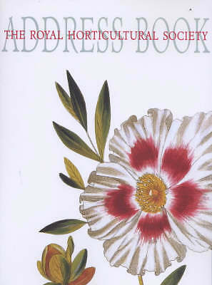 The Royal Horticultural Society Address Book, , Acceptable Book