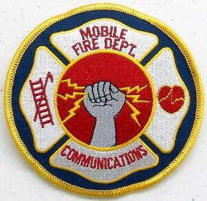 City-Of-Mobile-Alabama-Fire-Communications-Patch