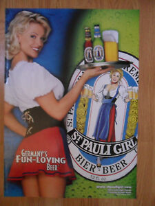 Sexy-Girl-Beer-Poster-St-Pauli-Imported-From-Germany-Heather-Kozar