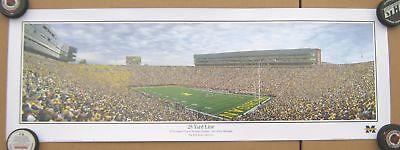 University of Michigan 28 Yard Line Large panoramic