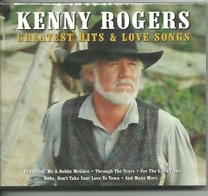 KENNY-ROGERS-GREATEST-HITS-LOVE-SONGS-on-2-CDs