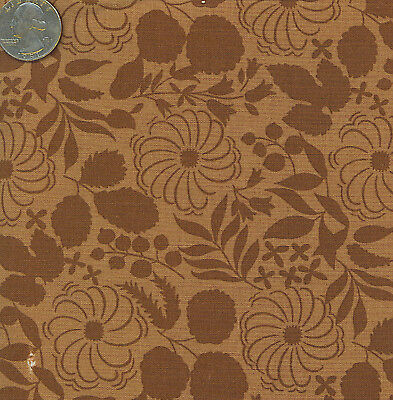 Anna Griffin Evelyn Collection Brown Tone Floral Fabric