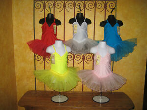 NEW-Girls-Toddler-Leotard-Tutu-Ballet-Dress-Costume-Dress-Up-Beautiful-Colors