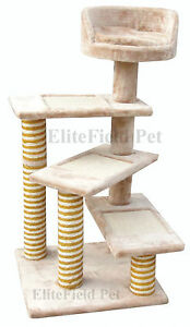EliteField-Cat-Tree-Furniture-Condo-House-Scratcher-Bed-Toy-Post-EFCT-4039