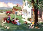 MasterPieces Puzzle Country Chores 1000 pc Farmall - MST71215
