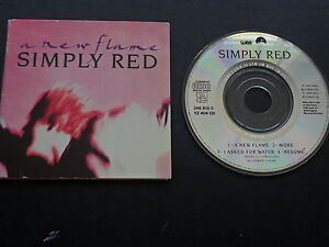 Simply-Red-A-new-flame-4-Track-3-034-MCD