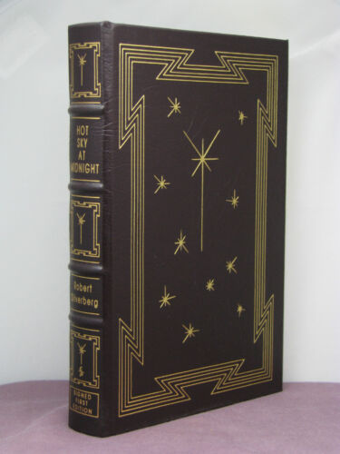 1st,signed by 2(authr,int),Hot Sky at Midnight by Robert Silverberg,Easton Press