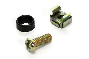 SET-OF-50-Rack-Screws-Washers-amp-Cage-Nuts-Pack-suit-19-034-Mounting-Road-Case