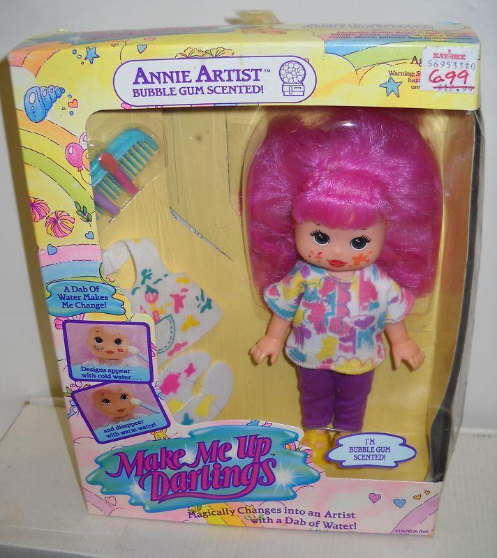 Nuevo en Caja Vintage Hasbro Make Me Up Darlings Annie artista