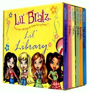 Lil-Bratz-Pocket-Library-6-Board-Books-Collection-Set-Ailani-Talia-Zada-New